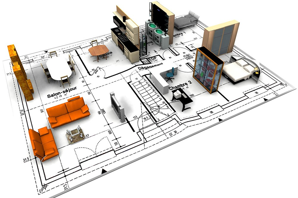 house-plan-orange-couch