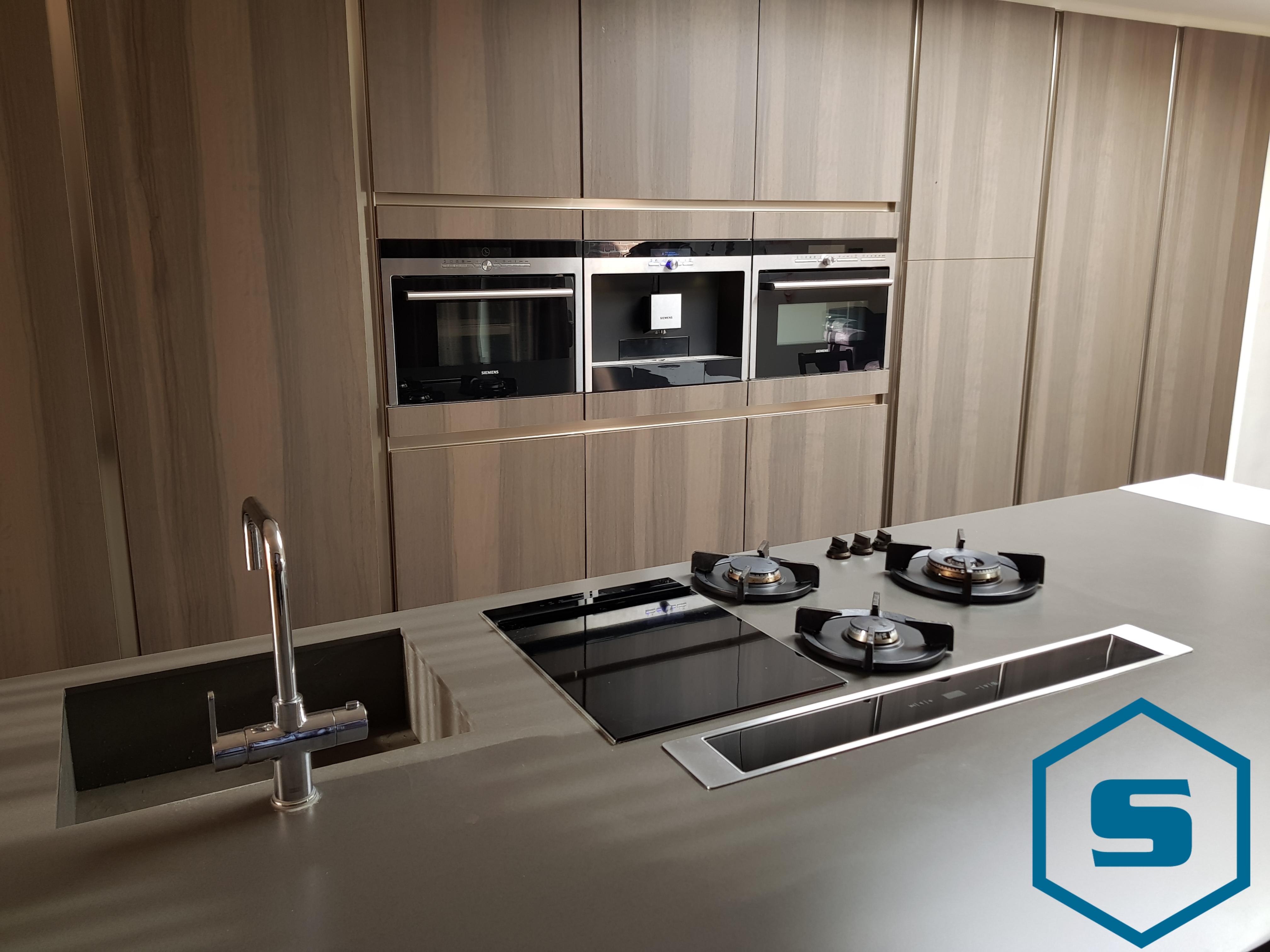 Moderne keuken pitt cooking