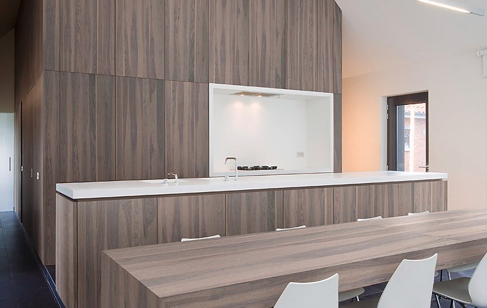 Granite Walnut keuken